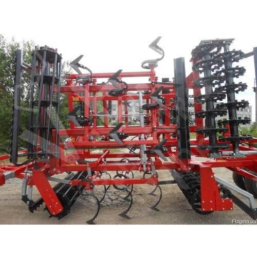Агрегат комбинированный предпосевной полунавесной АКПН-6-03 (Трубчатые катки)