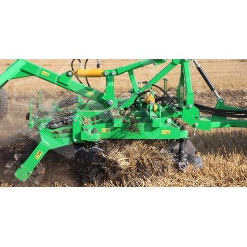 Агрегат почвообрабатывающий полунавесной АГМ-4,2 (2) (Не обслуживаемый корпус)