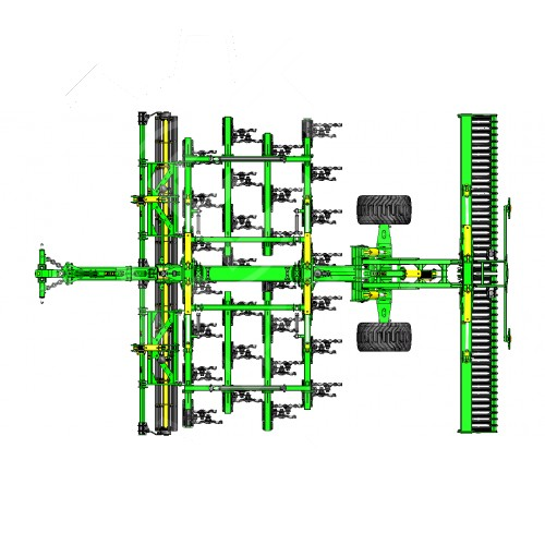 Универсальная дисковая борона ZEUS 6 VТ
