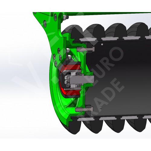 Универсальная дисковая борона ZEUS HD с внесением удобрений