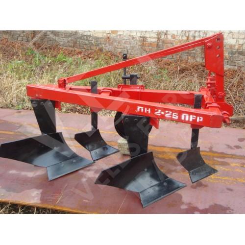 Плуг лемешный навесной с предплужником ПН 2-25ПРР (Захват 0,5м)