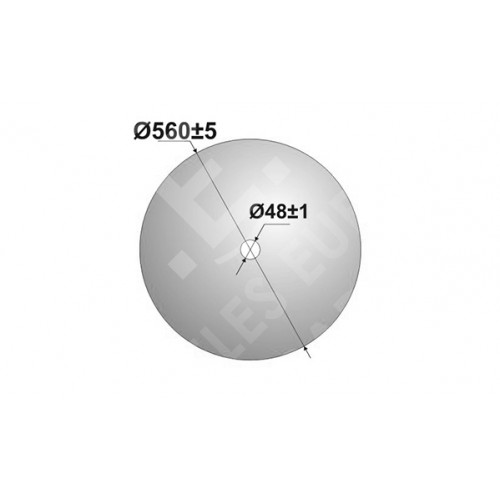 Диск John Deere Гладкий 560 мм.