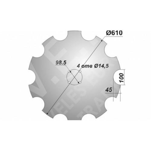 Диск Quivogne Ромашка 610 мм.