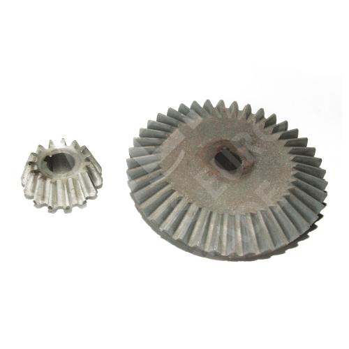 Коническая пара картофелекопалки КН-1 (Прямой зуб)
