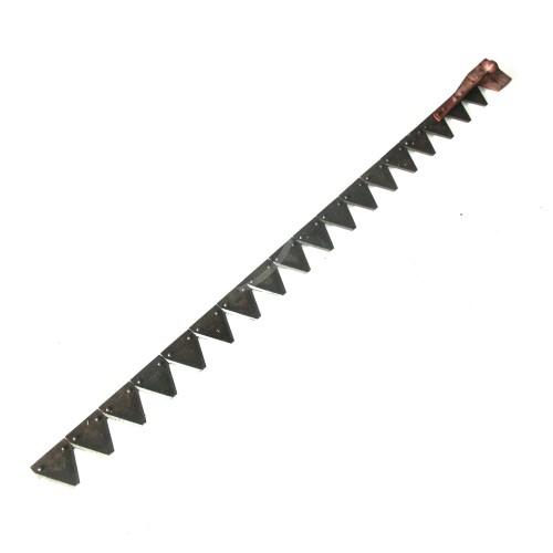 Нож польской конной косилки (С насечкой)