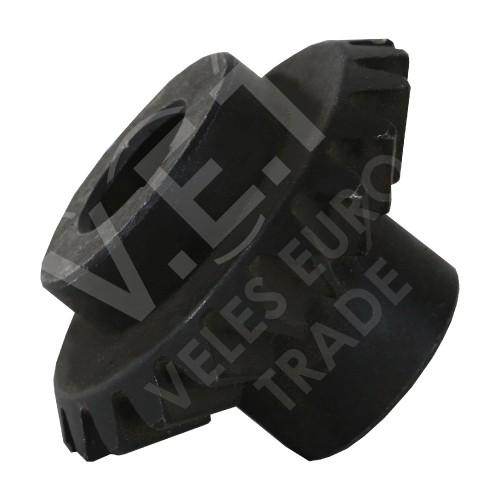 Малое коническое колесо роторной косилки Z-169 (16 зубов)