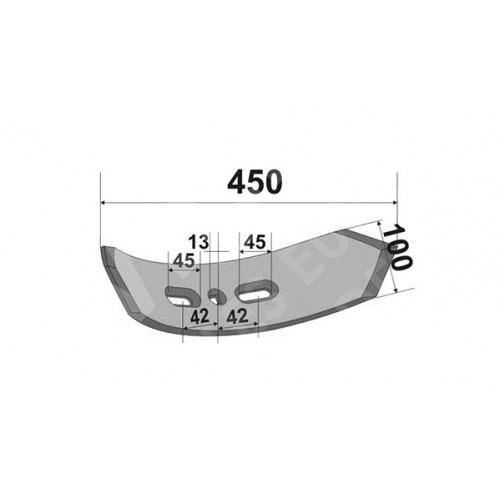 Лапа Kockerling Vario-5.7 182 мм (Двухсторонняя)