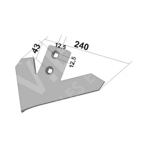 Лапа John Deere 240 мм