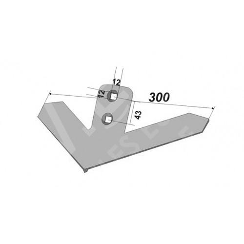 Лапа John Deere 300 мм