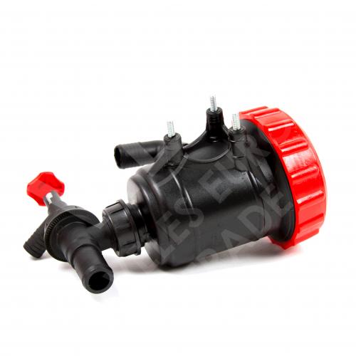 Фильтр нижний с запорным клапаном Ø 32