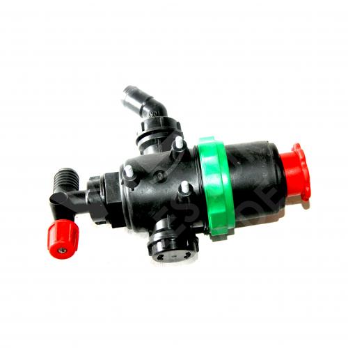 Фильтр нижний с запорным клапаном Ø 32 (Малый)