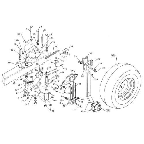 Болт M20х1,5х250 (3014573)