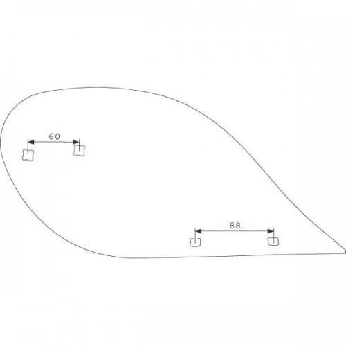 Отвал предплужника правый (3470654)