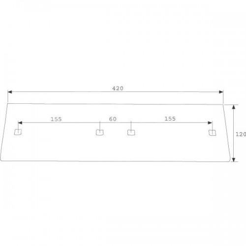 Полевая доска длинная A42 (3411504)