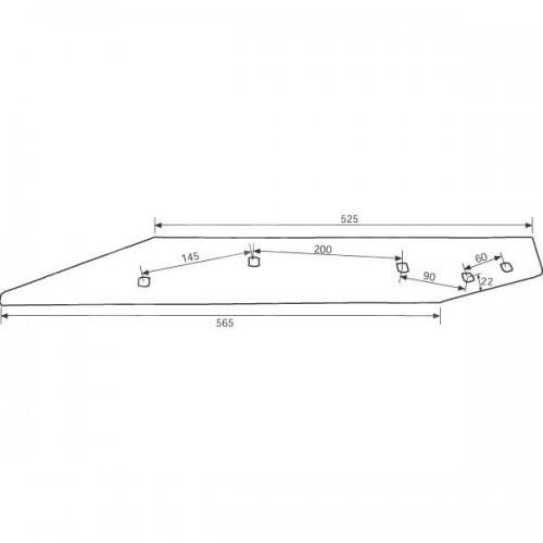 Полевая доска длинная WP292 O (27011400)