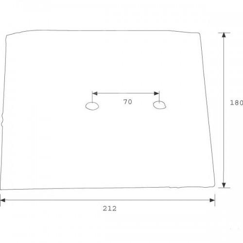 Полевая доска короткая (P5801101)