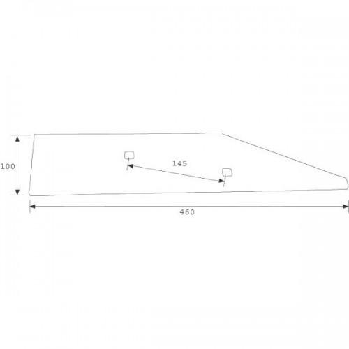 Полевая доска короткая VP292 O (27011500)