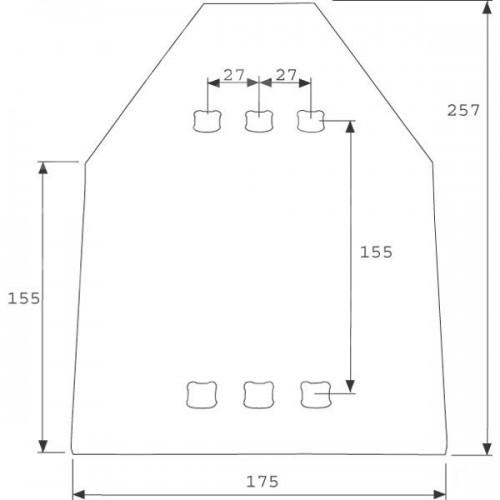 Защита полевой доски SC18 (3401490)