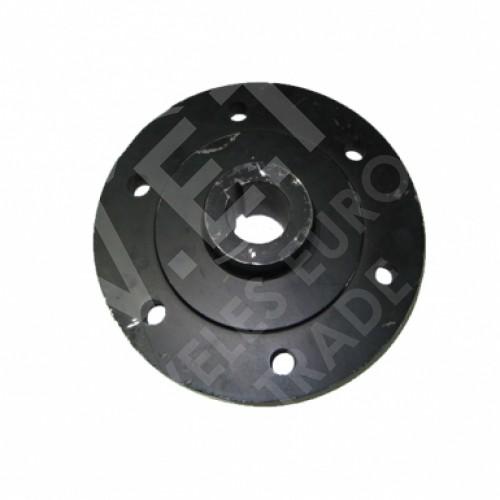 Ступица колеса опорного (6 шпилек, п/к 3209, м-та 55х75) СЗМ-4, СЗМ-6 (СЗМ-4-07.311)
