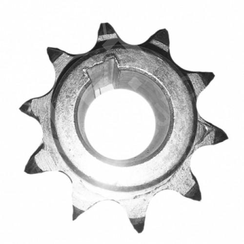 Звездочка промопоры колеса опорного (z=10, ступица на две стороны) (СЗМ-4-06.130М СБ)